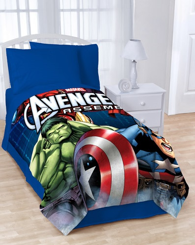 Avengers Plush Blankets For Kids