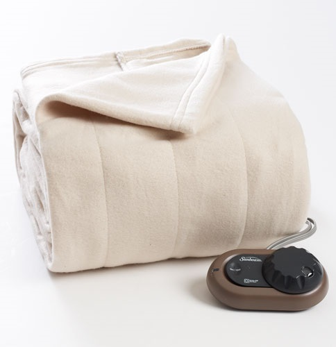 Classic Color Sunbeam Electric Blanket