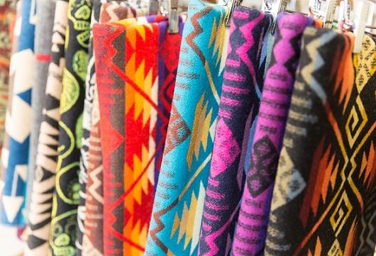 Colorful Pendleton Wool Blanket
