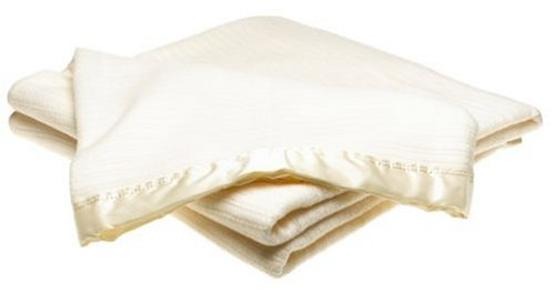 White Acrylic Thermal Blanket