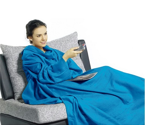 Blue Warm Fuzzy Blankets