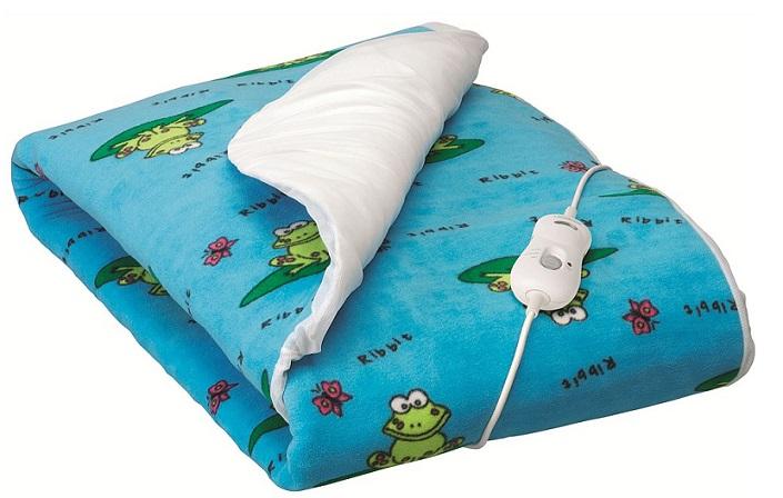 Comfy Teal Sunbeam Electric Blanket For Kids