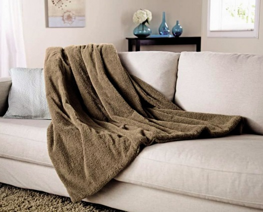 Cozy Warm Sunbeam Heated Throw Blanket