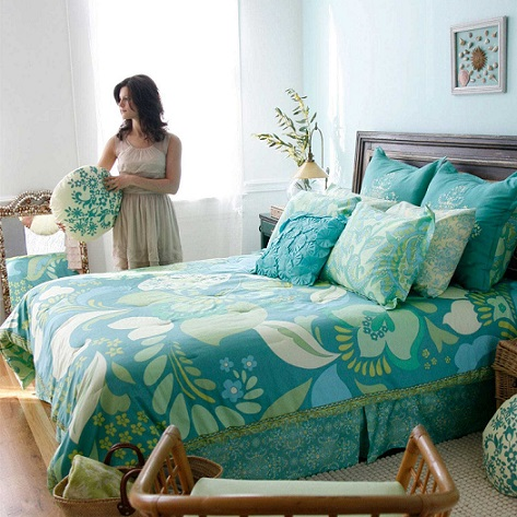 Discover The Cozy Turquoise King Size Bedding Sets