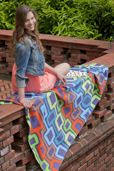 Fashion Custom Sweatshirt Blankets