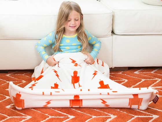 Get Some Personalized Kids Foot Blankets