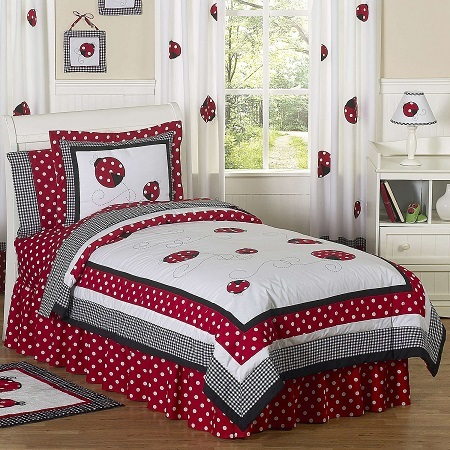 Lady Bug Extra Long Twin Bedding