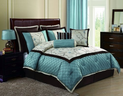 when decorating - Turquoise Bedding
