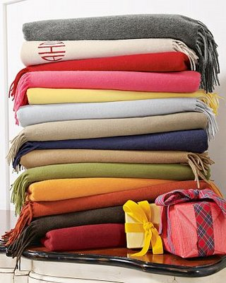 Lovely Cashmere Blankets