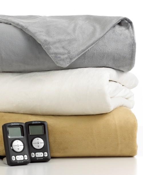 Best Cheap Blankets Sunbeam Electric Blanket Sunbeam