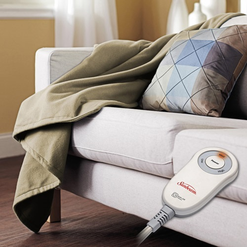 Microplush Sunbeam Heated Blankets