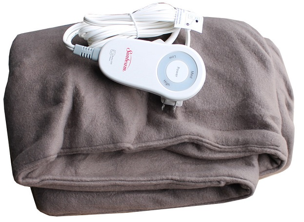 Find Sunbeam Microplush Heated Blanket